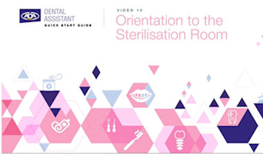 Orientation to the Sterilisation Room