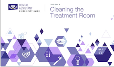 Cleaning the Treatment Room
