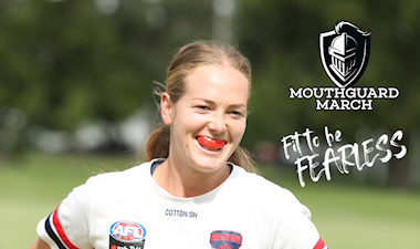 Get involved in Mouthguard March