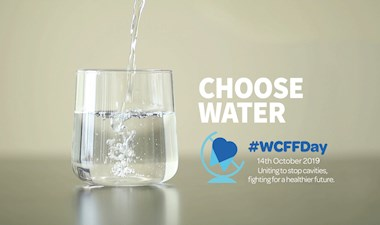 Choose water this World Cavity-Free Future Day